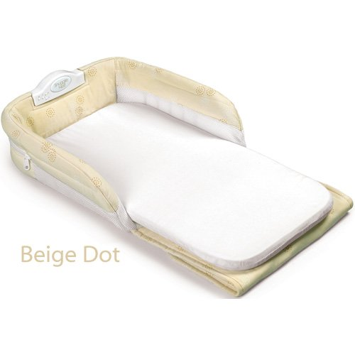 Baby Delight Snuggle Nest Portable Infant Sleeper, Beige - 1