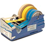 "START International SL7346 Multi Roll Tape Dispenser with Baked Enamel Finish, 9.375"" Length x 4.750"" Width x 5.250"" Depth"