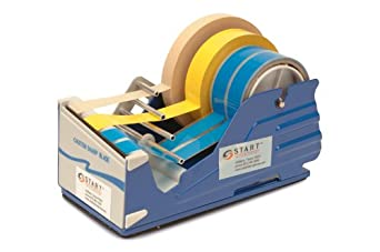 START International SL7346 Multi Roll Manual Tape Dispenser with Baked Enamel Finish, Case of 6