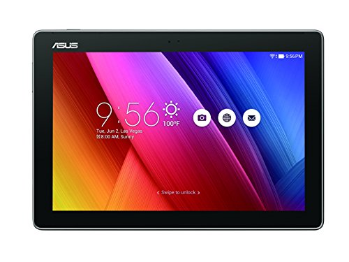 "Asus ZenPad Z300M-6A061A Tablet da 10"" HD, Processore Quad Core 1,3 GHz, HDD da 16 GB, RAM 2 GB, Grigio Antracite"