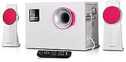 Truvison Bazooka 5000W 2.1 Multimedia Speaker System USB FM AUX MMC Playback Support Feature Superior Sound Clarity