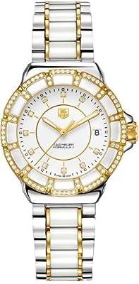 Tag Heuer Formula 1 Diamond Dial Steel and Ceramic Ladies Watch WAH1221BB0865