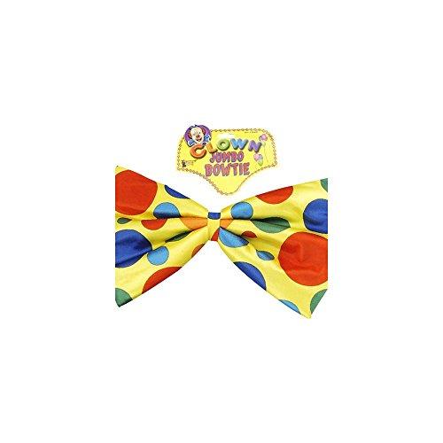 Jumbo Foam Bowtie - Multicolor Polka Dots - 1