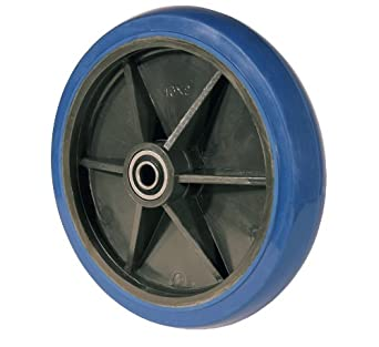 "RWM Casters SW2 10"" Diameter Signature Hand Truck Wheel, 2"" Width, 5/8"" Axle"