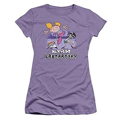 Dexter's Laboratory Cutting In Ladies Junior Fit T-Shirt