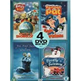 Rupert and the Snowglobe / Postman Pat's Magic Christmas / The First Snow Of Winter / Frosty The Snowman [DVD]