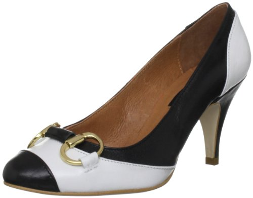 Marta Jonsson Women's 13586 Black/White Decorative  4 UK