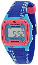 Freestyle Unisex FS81286 Shark Graffiti Blue and Pink Polyurethane Watch
