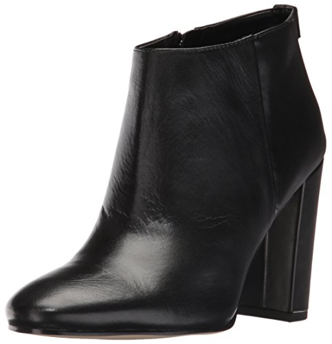 Image of Sam Edelman Women's Cambell Ankle Bootie, Black Leather, 6.5 M US