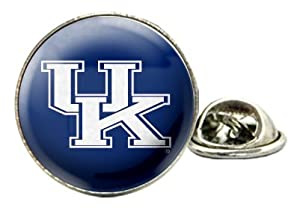 Kentucky Wildcats Domed Tie Tack / Lapel Pin with NCAA College Sports Team Logo