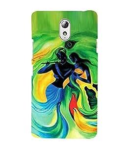 Vizagbeats radha krishna painting Back Case Cover for Lenovo Vibe P1m