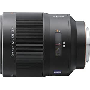Sony SAL-135F18Z 135mm f/1.8 Carl Zeiss Sonnar T Telephoto Lens