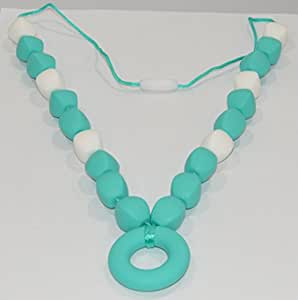 Amazon Com Unisex Silicone Natural Teething Necklace For