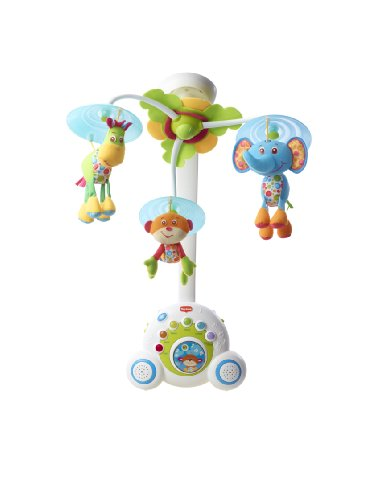 Tiny Love Soothe 'n Groove Mobile, Blue 0-24 months (Baby Boys Mobile compare prices)