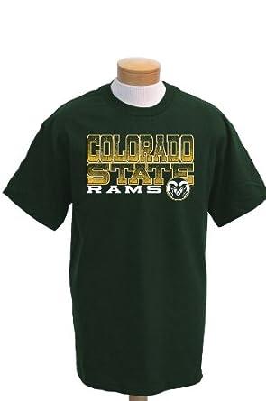 Buy NCAA Colorado State Rams Acho Short Sleeve T-Shirt by CI Sport
