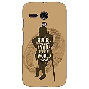 Jugaaduu LOTR Hobbit Back Cover Case For Moto G (1st Gen)