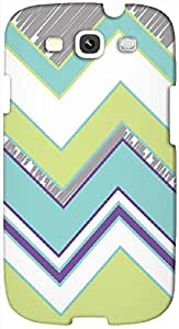 Timpax protective Armor Hard Bumper Back Case Cover. Multicolor printed on 3 Dimensional case with latest & finest graphic design art. Compatible with Samsung S3 - I9300 Galaxy S III Design No : TDZ-23585