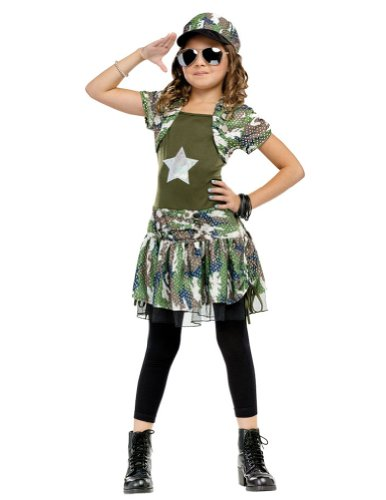 Kids-Costume Army Brat Child Costume Md 8-10 Halloween Costume