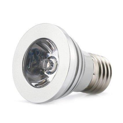 3W E27RGB LED 16Farben Farbwechsel House Innen Deko Lampe ohne Fernbedienung