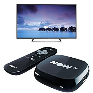 Panasonic TX-50CS520B Smart Full HD LED 50 Inch TV with Freetime and NOW TV Box with 2 Month Sky Movies Pass - Black Bundle