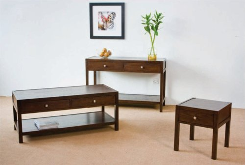 Cheap Console Table with 2 Drawers in French Walnut #AD 41234-sf (4234-sf)