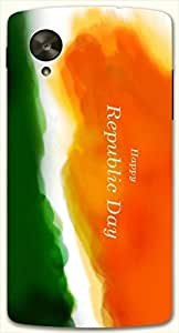 Prominent multicolor printed protective REBEL mobile back cover for LG Nexus 5 / Google Nexus 5 D.No.N-L-15747-NX5