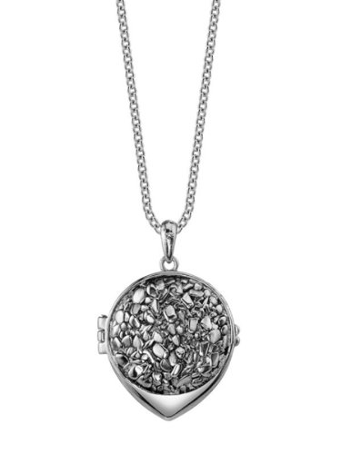 Belle Noel By Kim Kardashian Nugget Belle Locket - Palladium