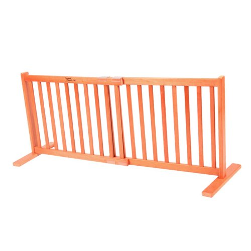 The Kensington Series 20-Inch Free Standing Pet Gate front-52367