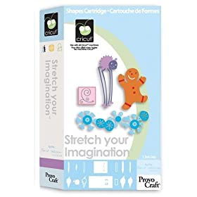 Cricut 29-0422 Strech Your Imagination Cartridge