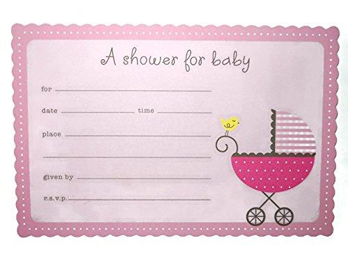 Mua thip mi american greetings baby shower invitations 20 american greetings baby shower invitations 20 invitations pink 1 m4hsunfo
