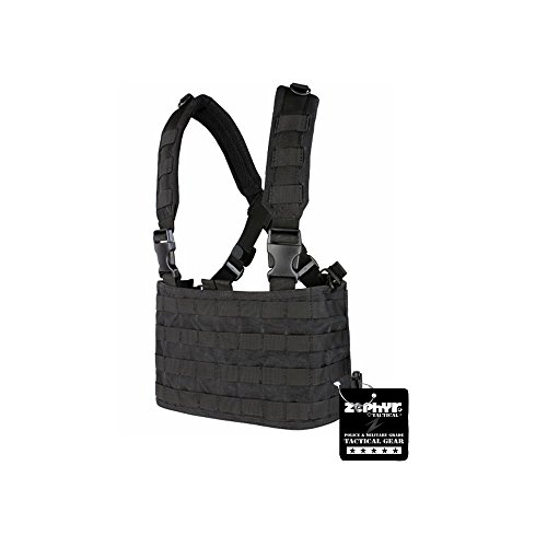 Zephyr Tactical OPS Chest Rig - Black