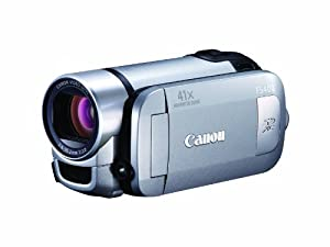 Canon FS400 Flash Memory Camcorder with 41x Advanced Zoom and SDXC Card Slot (Silver)