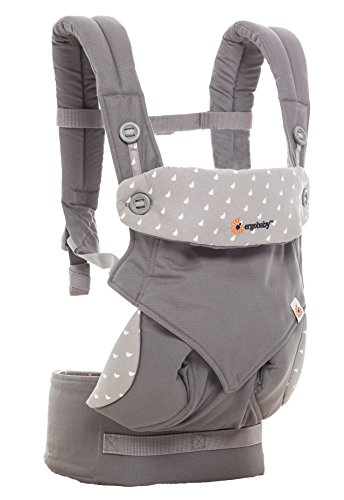 Ergobaby 4 Position 360 Baby Carrier, Dewy Grey (Ergo Baby Carrier Four Position compare prices)