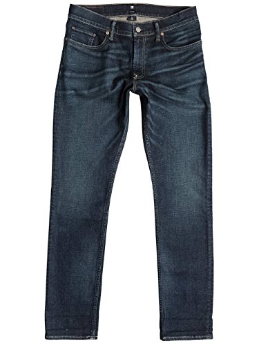 Jeans Denim DC Shoes Washed Straight Dirty Worn (32)
