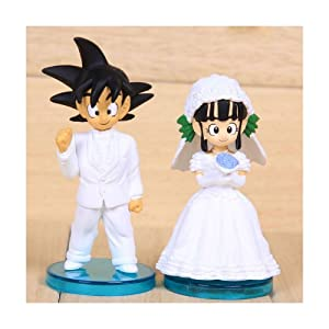 Sailor Moon Goku Wedding Cake