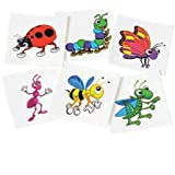 Insect Temporary Tattoos (Approx 144 Pcs)