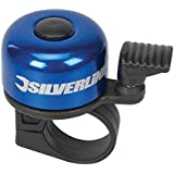 Silverline 858804 One-Touch Ping Bicycle Bell 80 x 100mm