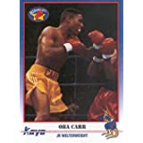 1991 Kayo Boxing #28 Oba Carr Trading Card