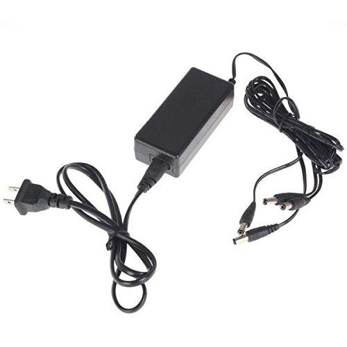 Power Supply Adapter Dc 12v 2a with 4 Channel for Cctv Security Surveillance Cameras image