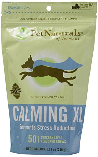 Pet Naturals Of Vermont Calming Xl Bone-Shaped Chews