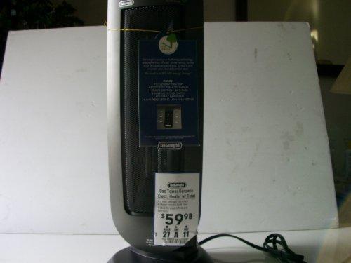 De'Longhi Tower Ceramic Electric Heater Item#98826 Model#Tch7090Erl Upc# 044387709019