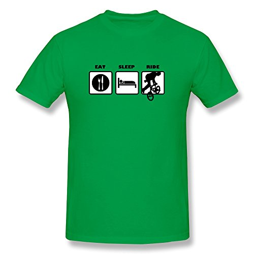 Eat Sleep Ride Bike Men'S Cool T-Shirt