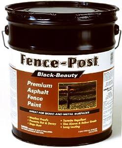 Amazon Com Gardner 900 5g Fence Post Black Beauty Premium