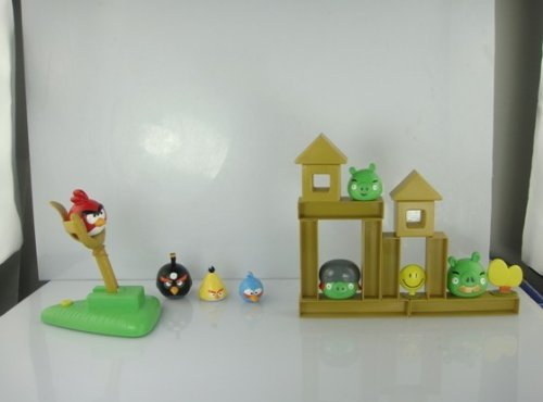 Lujex(TM) Angry Birds Knock On Wood Board Game