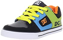 DC Pure Skate Sneaker (Toddler/Little Kid/Big Kid),Black Unkown Pleasures,6 M US Big Kid
