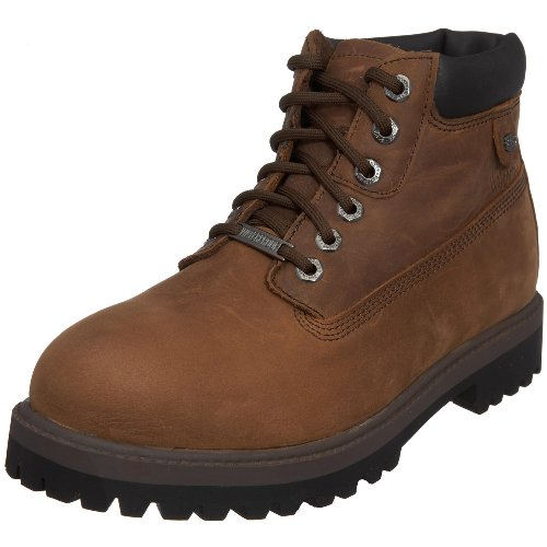 Skechers Men's Sergeants Verdict Boot Dark Brown 4442 CDB 10 UK