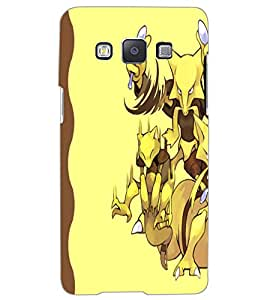 SAMSUNG GALAXY A5 CARTOONS Back Cover by PRINTSWAG