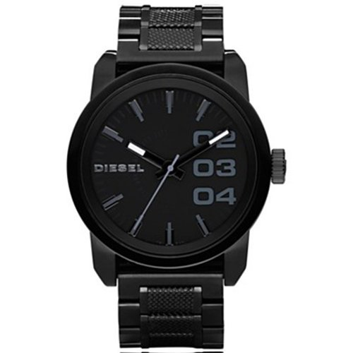 Diesel Men's DZ1371 Not So Basic Basic Black Watch