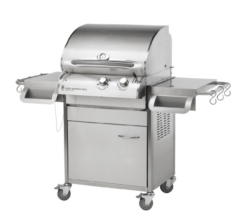 Outdoor Greatroom Company Lg24C Cook Number 24-Inch Gas Grill And Cart In Stainless Steel (Lp)
