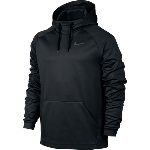 Men's Nike Therma Training Hoodie Black/Dark Grey Size XX-Large